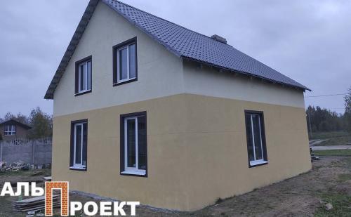 утепление дома в Обчаке под окраску